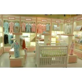 济南童装烤漆展柜设计与制作山东童装展柜制作加工厂